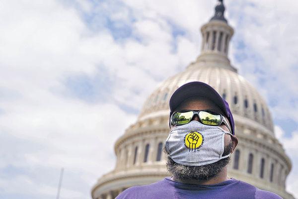 華盛頓強制離家需戴口罩