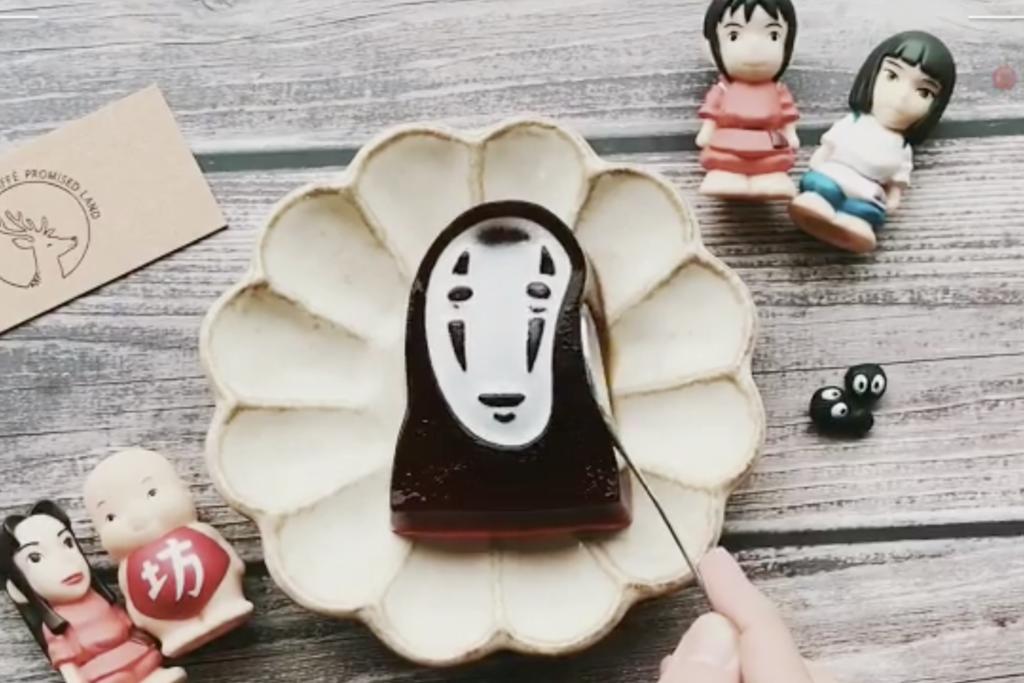 【台灣甜品】台北人氣打卡Cafe限定推出無臉男咖啡凍 造型像真/震下震下超搞笑!