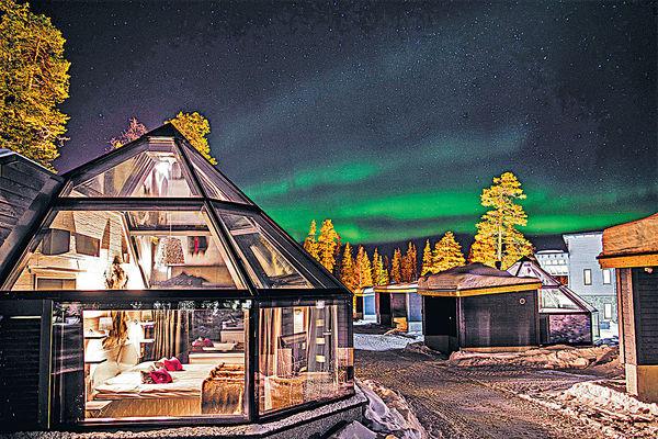 走進冬日芬蘭 追尋幸福北極光