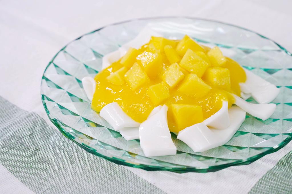 【甜品食譜】3步零失敗簡易甜品  芒果椰汁河粉食譜