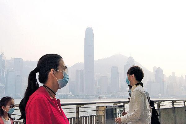 珠三角空氣污染 臭氧濃度創新高 環團:可加劇呼吸道疾病