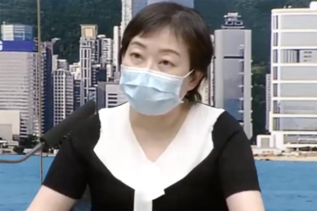 【新冠肺炎】8月1日新增125宗確診個案 張竹君:衛生署不會以信件形式查詢確診者行蹤