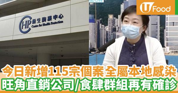 【新冠肺炎】8月2日新增115宗確診個案 全屬本地感染!