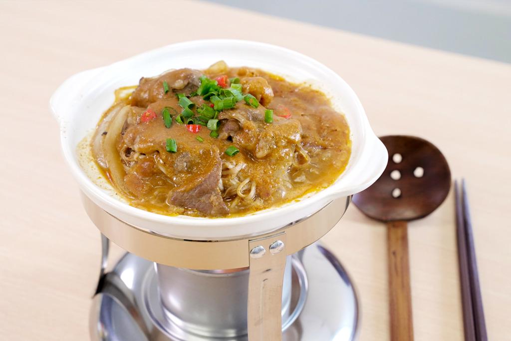 【中式食譜】3步簡易完成惹味煲仔菜  沙嗲牛肉粉絲煲食譜