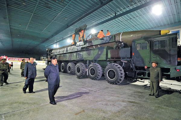聯合國︰朝核彈頭可搭載彈道導彈上