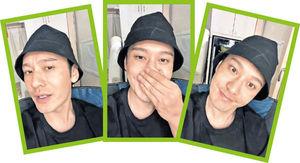 微博拍片粉碎「變臉」傳聞 黃曉明︰我的素顏就長這個樣子