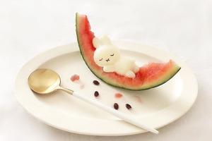 【Miffy甜品】日本忠粉自製多款Miffy造型料理 超可愛白桃/水信玄餅/夏日冰品