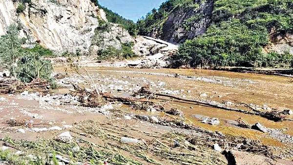 陝西暴雨4死11失蹤 經濟損失$17億