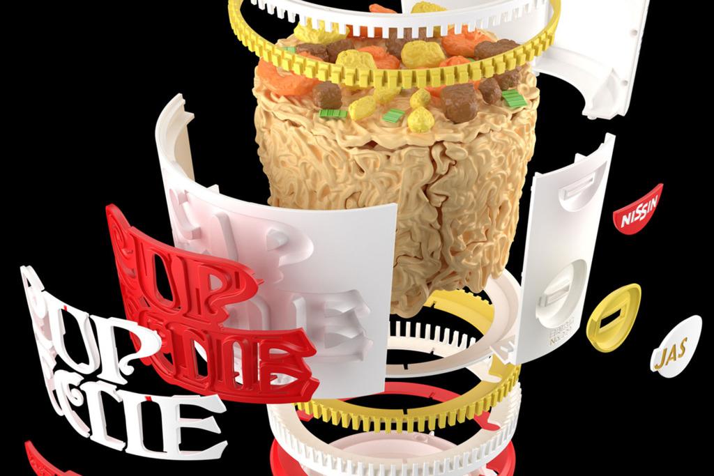 【杯麵模型】3分鐘內無法製作的杯麵!7-Eleven便利店預購1:1超像真日清合味道杯麵模型