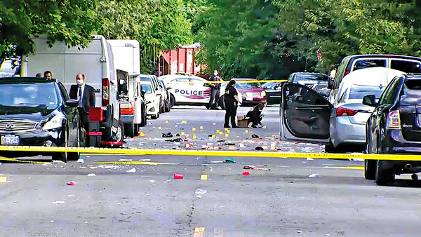 華盛頓戶外聚會爆槍擊 1死20傷