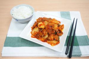 【韓式食譜】帶飯之選!新手零難度4步完成惹味小炒   韓式泡菜辣炒豬肉