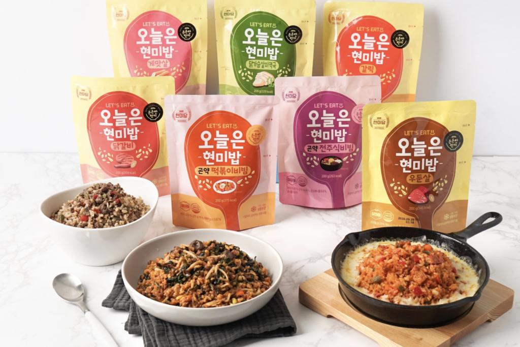 Home office即食恩物!韓國即食糙米飯/低卡豆腐 Tiramisu/100%天然排毒沙冰