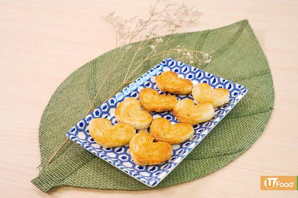 【曲奇食譜】3步新手零失敗滋味小食  香脆好味蝴蝶酥食譜