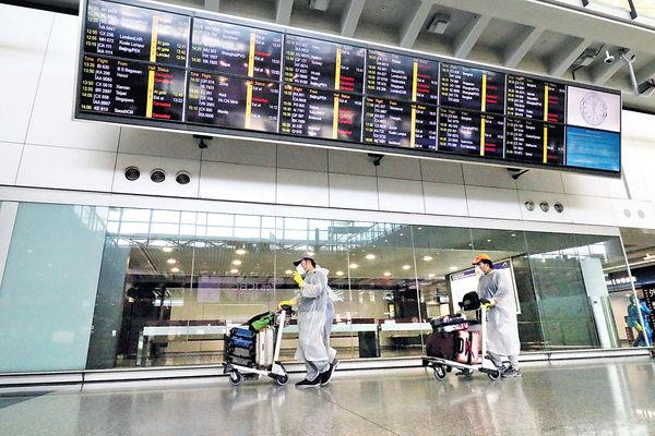 環時一度指香港機場 將恢復往返內地航班