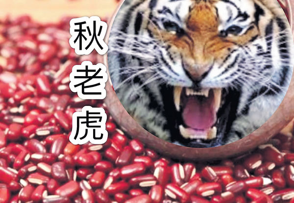 秋老虎要養陰清燥
