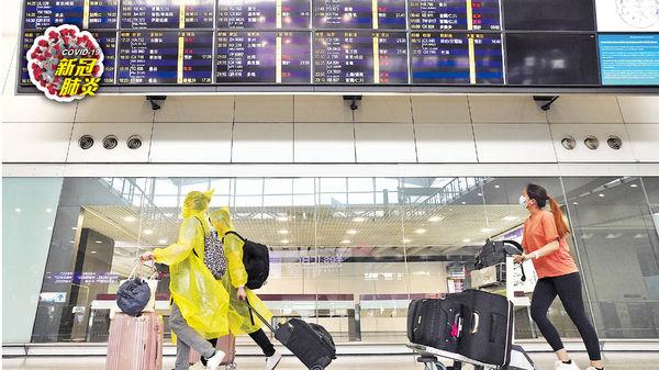 內地旅客明日起 可經港機場轉機 專家︰風險不大