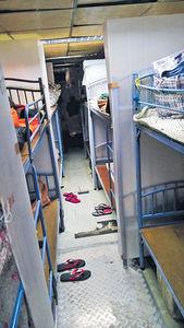 碼頭群組再增34宗 宏記休息室大播毒 食飯如廁逾百人共用 派8000樽檢測包兼職