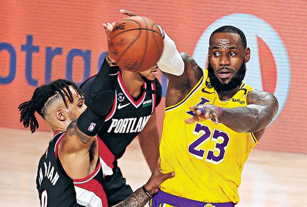 NBA季後賽吹冷風 兩岸「一哥」齊落敗