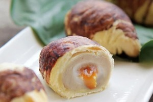 【台灣手信】香港都有得買!台灣人氣必買手信阿聰師的小芋仔    可愛芋頭造型配軟滑芋泥+流心蛋黃內餡