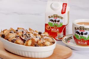 【焗爐食譜】5步輕鬆完成簡易甜品 香濃港式奶茶焗麵包布甸食譜
