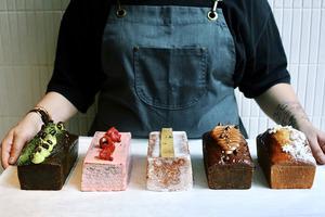 【Basque burnt cheesecake香港】本地甜品糕點品牌La Viña登陸中環 伯爵茶巴斯克焦香芝士蛋糕/抹茶紅豆磅蛋糕