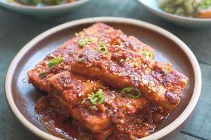 【韓式食譜】新手零失敗!3步煮出惹味韓國菜  韓式醬燒豆腐食譜