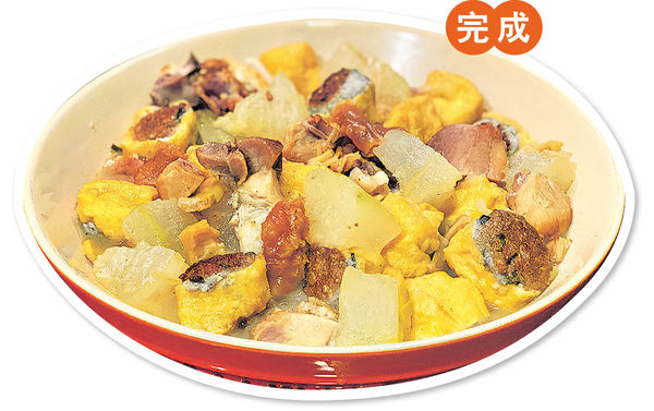 KOL教煮 香濃冬瓜炆燒腩釀豆卜