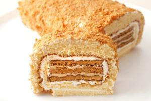 【大阪美食2020】日本大阪拿破崙卷蛋甜品 外層軟綿內裡酥化香脆!