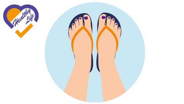 長穿涼鞋人字拖 易患足底筋膜炎