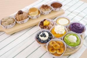 【散水餅IG】甜品網店手作麻糬撻+果撻 抹茶麻糬/紫薯芝士/草莓撻