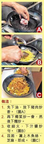 大廚教煮 簡易版日式炒麵