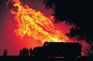 加州山火11死 三藩市變「火星」
