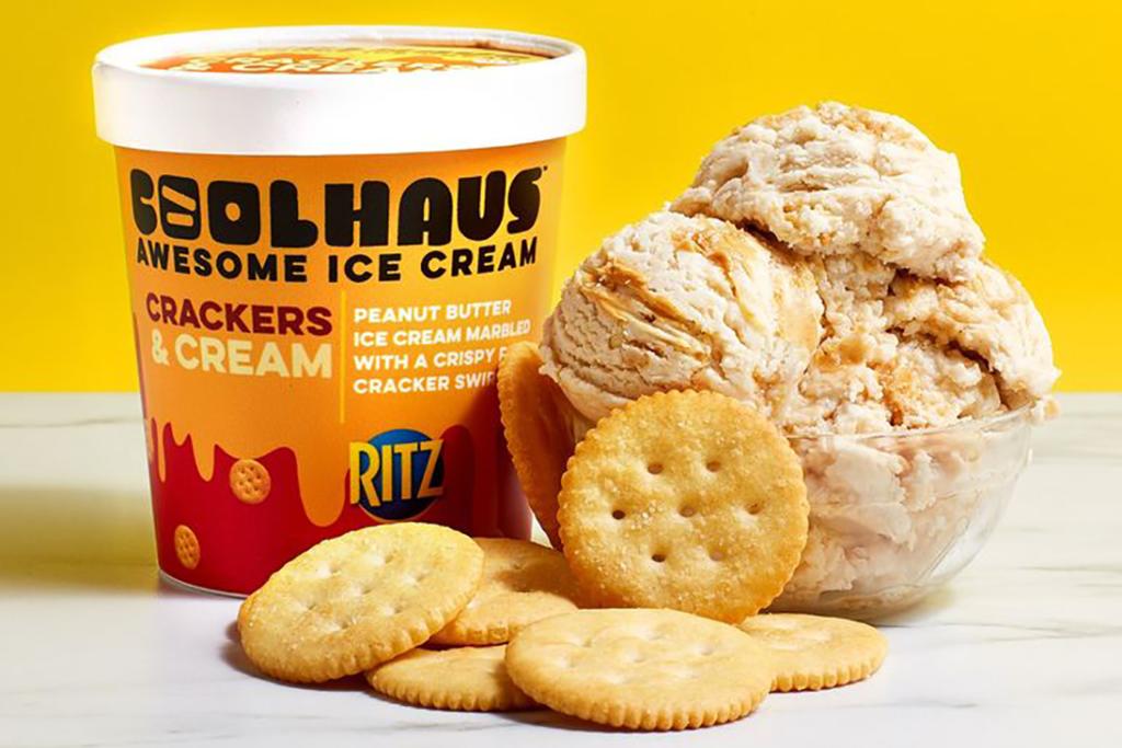 【美國美食】Ritz芝士餅新出花生醬脆脆雪糕! RITZ Crackers限定甜品美國首度登場
