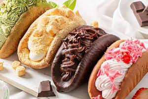 【韓國甜品】韓國推出4款超吸引忌廉卷 脆皮朱古力/黃豆粉麻糬口味最吸睛!