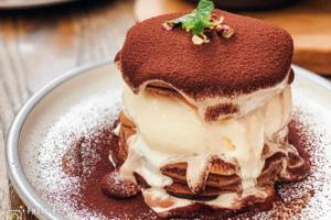 【台北Cafe 打卡】台北咖啡店層層疊麻糬班戟 Tiramisu麻糬鬆餅/髒髒宇治抹茶Pancake