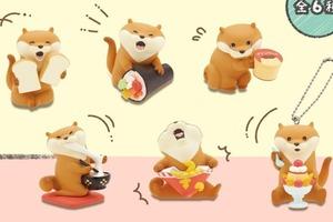 【日本扭蛋】日本精品店推出為食水獺系列扭蛋 超可愛年糕/多士/布甸等造型