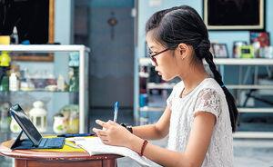 疫下網上學習 逾半學童近視加深