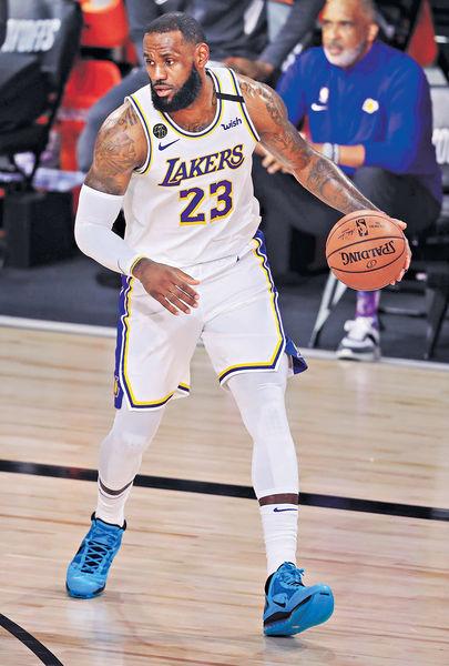 NBA最佳陣容 占士16次入選破紀錄