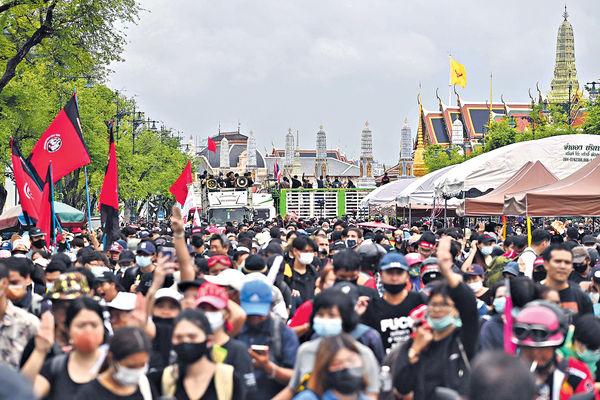 曼谷反政府示威 擬下月全國大罷工