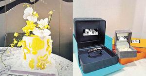 秘密生B? Po老公林峯名牌禮物慶祝30歲生日 張馨月感嘆︰讓我快速成長的一年