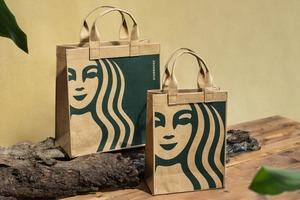 【台灣Starbucks】台灣Starbucks植物肉環保系列 其中推出可重用水洗牛皮紙袋!