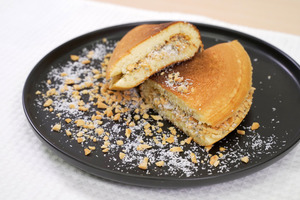 【懷舊小食】簡單3步自製懷舊小食! 香甜鬆軟爆餡潮式冷糕