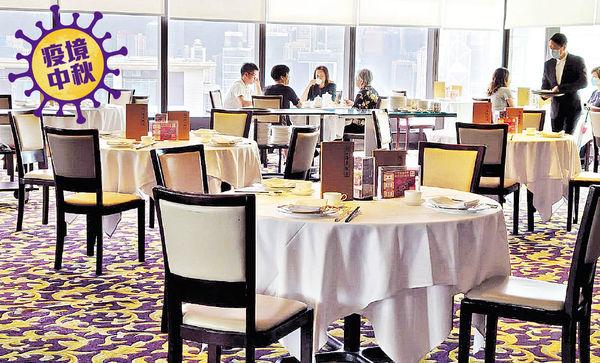 4人限聚延至10.1 食肆變招迎中秋 訂座僅2成 推外賣鮑參翅肚餐吸客