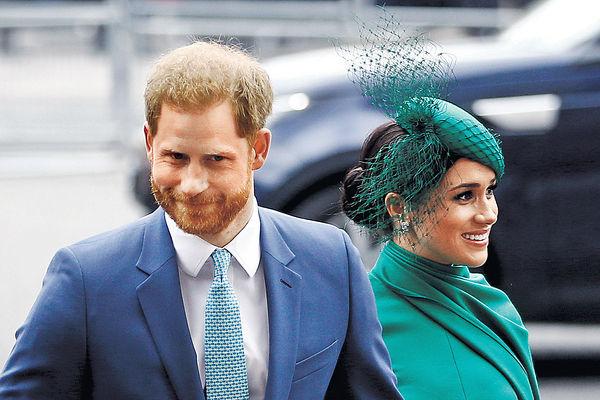 哈里夫婦籲美選民投票 打破英皇室慣例