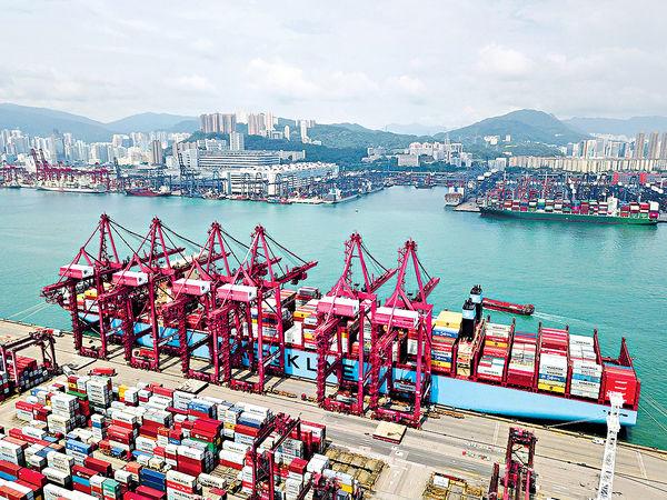 本港8月份出口貨值 按年跌幅縮至2.3%