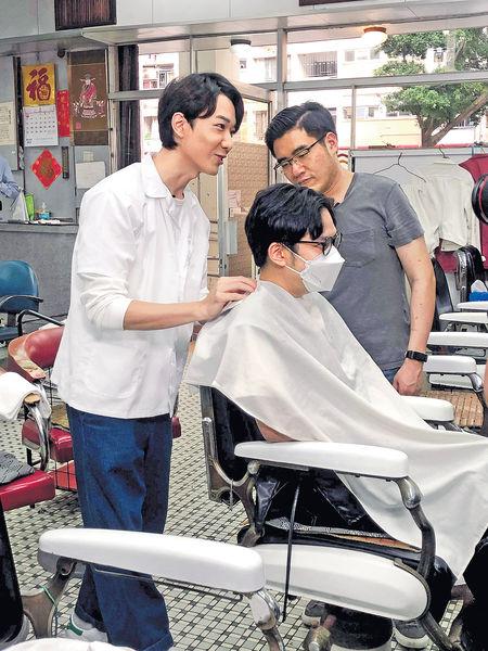 BabyJohn 學做傳統理髮師