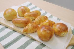 【氣炸鍋食品】5分鐘焗好!網店推出超方便氣炸鍋港式麵包 酥鬆牛角酥/爆餡奶黃包/椰絲雞尾包