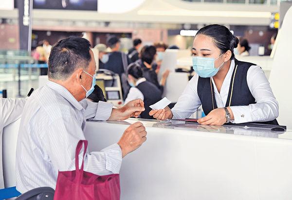 國慶中秋黃金周 內陸航班數量料年增11%