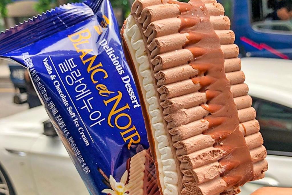 【7-11 雪糕】便利店新出韓國直送SEOJU千層雪糕雪條 波浪紋脆皮朱古力+雲呢拿雪糕