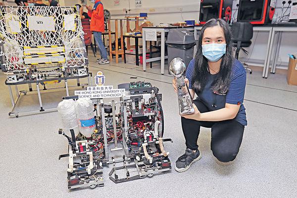 大專機械人賽 科大隊伍囊括3獎